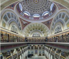 National Library of Finland in Helsinki, Finland. Another reason Helsinki is on the top of my list of must-see places! The Places Youll Go, Places To See, Voyager C'est Vivre, Beautiful Library, Jolie Photo, Amazing Architecture, Library Architecture, Parks, Beautiful Places