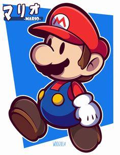 Super Mario And Luigi, Mario Bros., Luigi's Mansion, Nintendo, The Originals, Php, Fictional Characters, Geek, Drawings