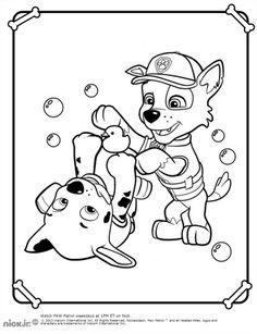 paw patrol rocky play coloring pages printable and coloring book to print for free find more coloring pages online for kids and adults of paw patrol rocky