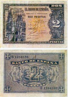 1937, 2 pesetas