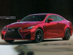 It's no secret that Lexus is currently hard at work developing a BMW M4 fighter. We've seen clear spy shots of such a car testing in prototype form at the Nurburgring and other European locales, but today it appears that a few images of the production car have leaked online. A Japanese car magazine has managed to snag some scanned images of the hot new coupe that will reportedly be called the RC F.