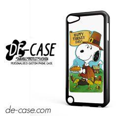 Snoopy Happy Turkey Day DEAL-9759 Apple Phonecase Cover For Ipod Touch 5