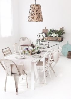 dining table  from What Katie Ate DELICIOUS_NOV