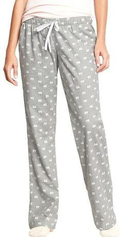 OldNavy  Women s Printed Flannel  PJ  Pants 18343407f