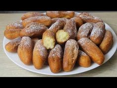 Recette beignets sans temps de repos / facile et rapide - YouTube Vanilla Sugar, Pretzel Bites, Great Recipes, Breakfast Recipes, Bread, Baking, Cake, Desserts, Food