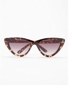 0633859f075 Express tortoiseshell extreme cat eye sunglasses Cat Eye Frames