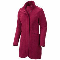 Mountain Hardwear Toasty Tweed Fleece Jacket (For Women) in Rich Wine