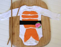Sushi Baby Costume, Baby Halloween Costume, Long Sleeve Sushi Costume on Etsy, $32.00