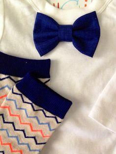 Bow tie onesie with leggs- baby boy