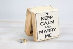Wedding Ring Bearer Box Wedding Box Engagement by MyHouseOfDreams