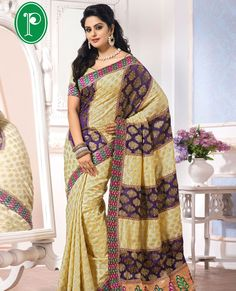 Pothy's brings more collections of wedding sarees, designer sarees and casual sarees. Pothys newly introduced a new designer and embrordery silks sar.