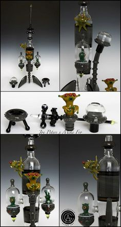 Joe Peters x Mike Fro. Glass art is truly taking over!!