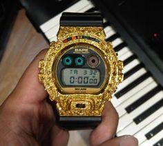 Pharrell's Custom Gold G-Shock