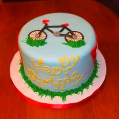 A Bike Lover's Cake! How cool!