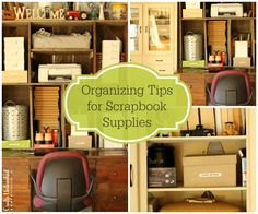 Organizing-tips-for-scrapbooking-supplies-Crafts-Unleashed