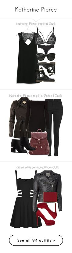 """Katherine Pierce"" by samtiritilli ❤ liked on Polyvore featuring MANGO, See by Chloé, Chanel, Topshop, Calvin Klein, Summer, tvd, KatherinePierce, MICHAEL Michael Kors and TIBI"