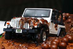 Groom's Jeep Cake