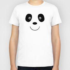 Panda bear face Kids T-Shirt by Miracle - $20.00