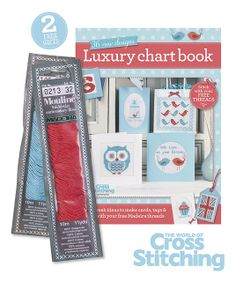 FREE FOR YOU! Enjoy TWO free thread packs and a bumper bonus chartbook by The World of Cross Stitching, issue 216 out now!