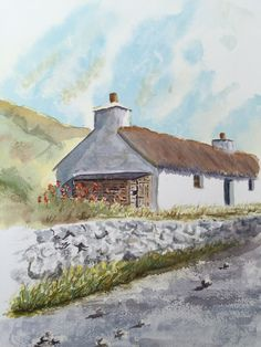 Watercolour House - By Bazza