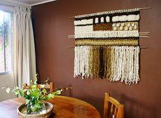 Telar Copiapó, Chile  uno de los primeros tapices que hice!