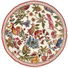 "Gien Jardin Imaginaire 7.75"" Salad Plate at EuropeanTableware"