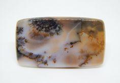 53 x 30 mm Agata dendritica. Agate gemstone cabochon di HELGASHOP su Etsy
