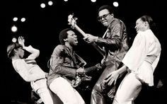 Nile Rodgers and Bernard Edwards in Chic