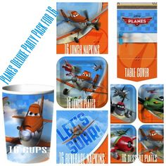 Disney Planes Birthday Party pack Supplies