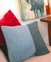 DigsMagazine.com | lounge: MAKE A WOOL SWEATER PILLOW page3