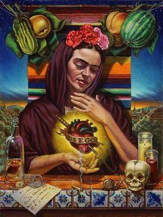 Sacred heart Frida...