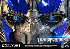 Transformers: Age of Time - Superior Optimus Prime G1 Movie Mash-up from Prime 1 Studio