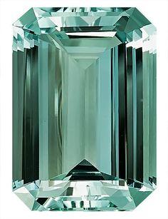 Green Beryl Loose Gemstone, Emerald Cut, 20.3 x 14.3 mm, 17.44 Carats at BitCoin Gems