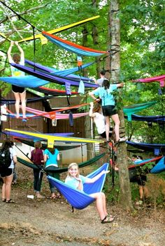 I wish I had more friends with an ENO hammock to do this with :)