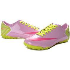 http://www.asneakers4u.com Nike Mercurial Vapor X TF Boots   Plum Hot Pink Chrome Yellow