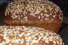 Oatmeal Buttermilk Bread