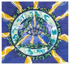 Third Eye, Maya, Mandala, Painting, Painting Art, Paintings, Painted Canvas, Coloring Pages Mandala, Mandalas