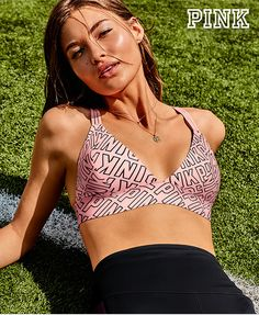 Oufit inspo! Cute new PINK bralettes & tons more back-to-campus styles.
