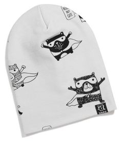 Kukukid Superhero Beanie available for international delivery from online kids store www.alittlebitofcheek.com.au
