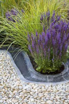 Mooie combinatie: siergras en Lavendel