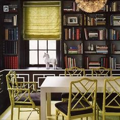 Love Chippendale Chairs, grew up with 6 yellow ones wrapped around a glass and chrome table. Mom was such a hip designer, even back then.