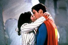 "Christopher Reeve & Margot Kidder en ""Superman"""