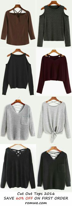 Cut out tops