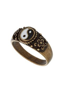 i love this. ying yang ring