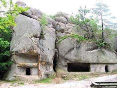 Megalithic Stone Construction, Russia
