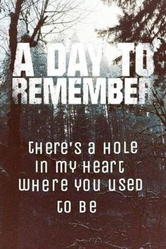 92 Best ♥A Day To Remember ♥ images | Adtr lyrics, Band quotes