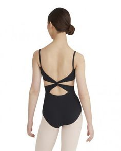 Cami Leotard with Twist Back