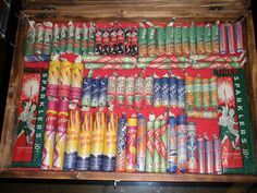 Very early hand crafted fireworks in the new display case I just got. Vintage Postcards, Vintage Ads, Bonfire Night Guy Fawkes, Standard Fireworks, Firework Stands, Vintage Fireworks, Diwali Crackers, Firecracker, Samhain