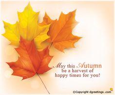 Happy Autumn..