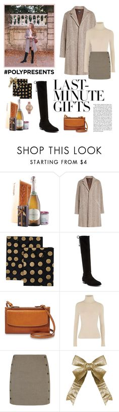 """#PolyPresents: Last-Minute Gifts"" by restylingbloggers ❤ liked on Polyvore featuring A.P.C., Dibor, Stuart Weitzman, FOSSIL, Alice + Olivia, Sandro, Olivia Burton and Edition"